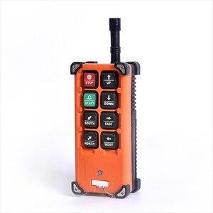 Image 4 - Télécommande industrielle sans fil f21 e1b à vitesse unique 8 boutons F21 E1B (1 émetteur + 1 récepteur) pour grue