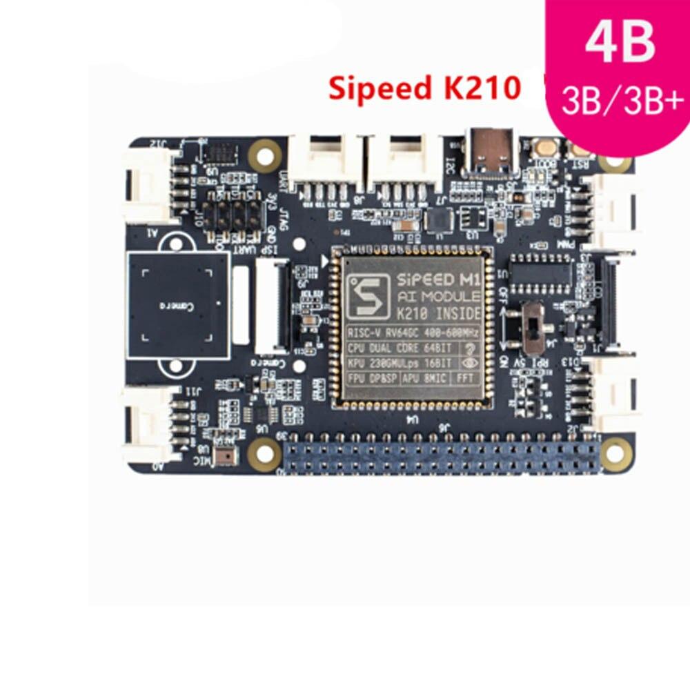 Grove AI HAT Raspberry Pi Raspberry Pi Edge Computing Expansion Board Onboard Sipeed K210 For Rasperry Pi 3B/3B+/4B
