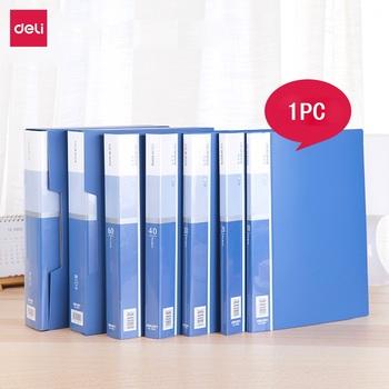 Deli A4 Folder broszura informacyjna wielostronicowy papier testowy uchwyt na plik studencki papier testowy wielowarstwowy worek do przechowywania plików tanie i dobre opinie Plik skrzynka Przypadku Deli A4 File Folder