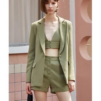 Ladies Three-Pieces Streetwear Suits