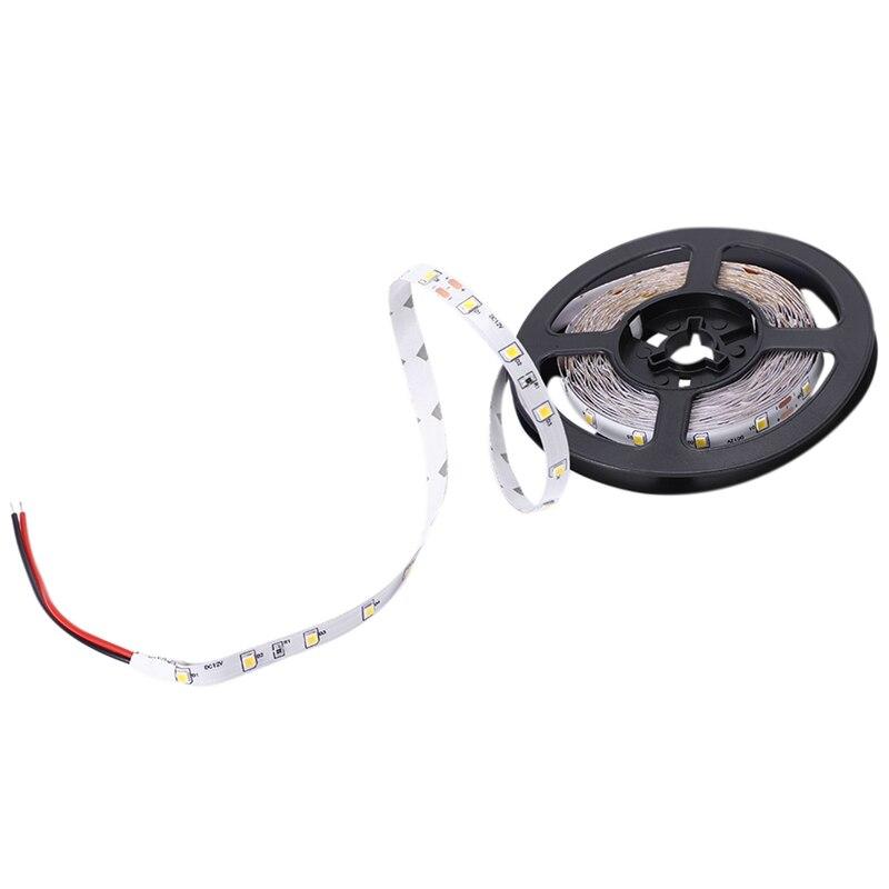 OPOWAY Flexible Led Strip Light 300 LED 3528 SMD Warm White 3100K LED Ribbon 5 Meter Or 16 Feet,12 Volt 24 Watt