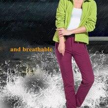 NUONEKO новые женские и мужские флисовые теплые Походные штаны для спорта на открытом воздухе, кемпинга, рыбалки, катания на лыжах, треккинга, в...