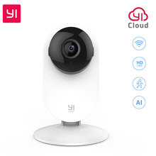 YI Home Camera 1080P IP Smart Indoor Camera FHD Night Vision Motion Detection for Home Security cheap IP Camera Windows XP Mac os Windows 8 1080P(Full-HD) 2 8-8mm Mini Camera IP Network Wireless Embedded Side White F2 0 CMOS