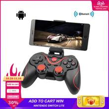 T3 X3 Wireless Joystick Bluetooth 3.0 Gamepad Gaming Controller Gaming Remote Control for Tablet PC Android Smart mobile phone(China)