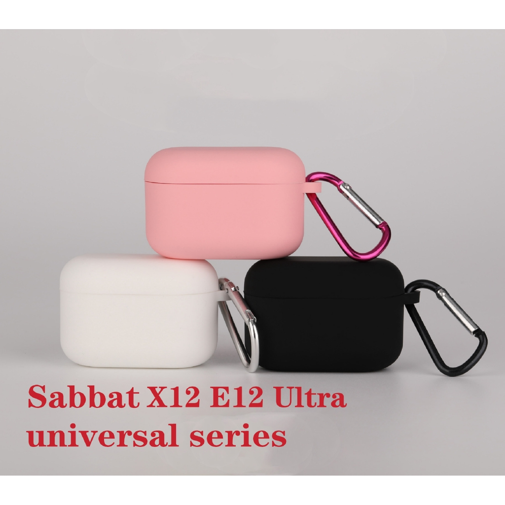 Protective Case For Sabbat X12 Pro & E12 Ultra Bluetooth Wireless Headset Cover TPU Silicone Case Earphone Bag