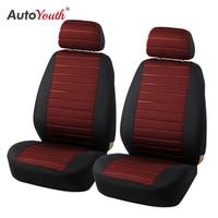 Autoyouth marca 2 pçs assento de carro cobre 5mm espuma airbag compatível universal caber a maioria vans minibus separado assento de carro|car seat cover|seat cover|seat cover brands -