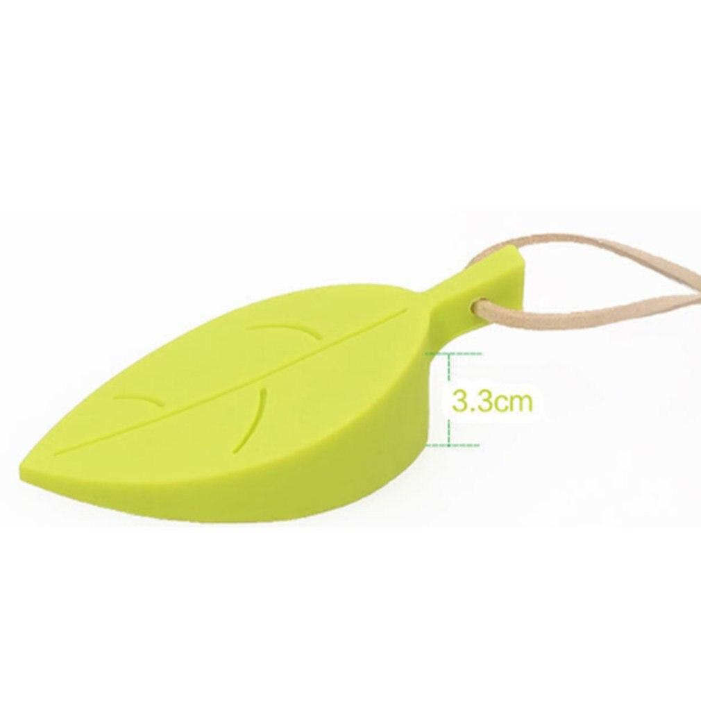 Creative Home Leaves Door Stop Stopper Door Wedge Baby Safety Doorstop Wedge Finger Protector For Home Garden Office