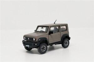 Image 3 - 1:64 BM Creations Suzuki Jimny (JB74) Matte Grey w/accessory pack Right Hand Drive Diecast Model Car
