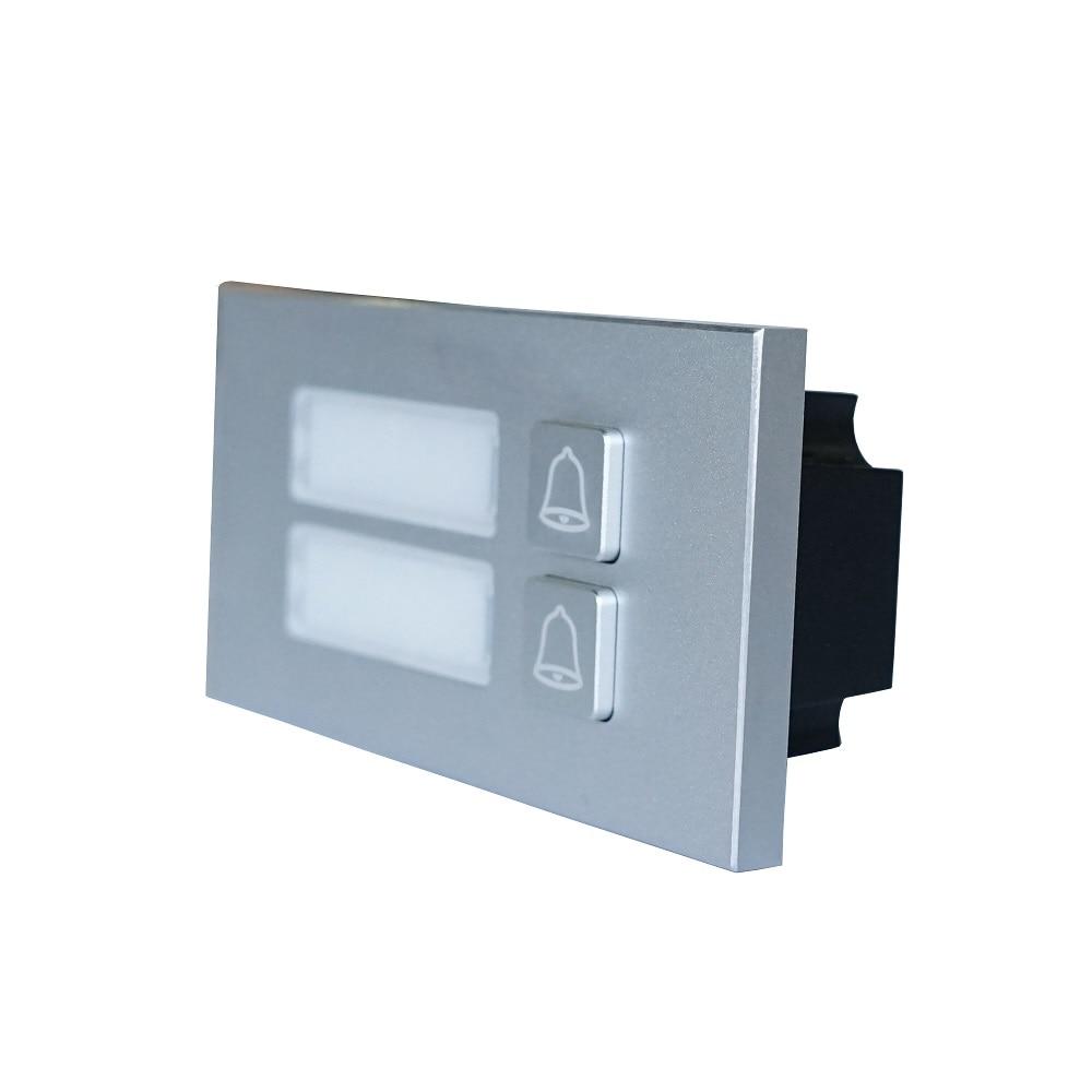DHI-VTO4202F-MB2 Button Module For DHI-VTO4202F-P, IP Doorbell Parts,video Intercom Parts,Access Control Parts,doorbell Parts
