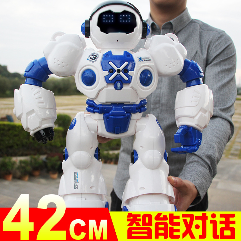 Ultra Large Sensing Robot Toys Smart Educational Remote Control Electric Robot Can Sing And Dancing CHILDREN'S Toy