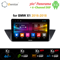 10.1 Ownice K1 K2 K3 Octa Core Android 9.0 Car DVD For BMW X1 32GB Nand Flash 4G Wifi Mirror Link GPS DAB+ DVR
