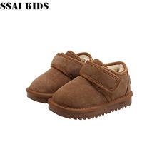 Ssai kids/Детская Хлопковая обувь; Зимняя детская Зимние ботинки