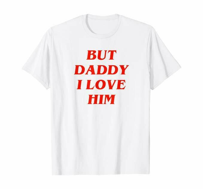 Comic Love The Mermaid Love But Daddy I Love Him Funny T-Shirt