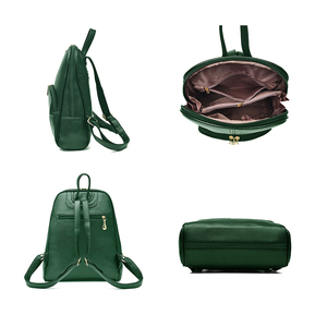 Image 3 - NEVENKA Soft PU Leather Backpack Women Casual Style Backpacks Mochila Feminina Bags for Women 2020