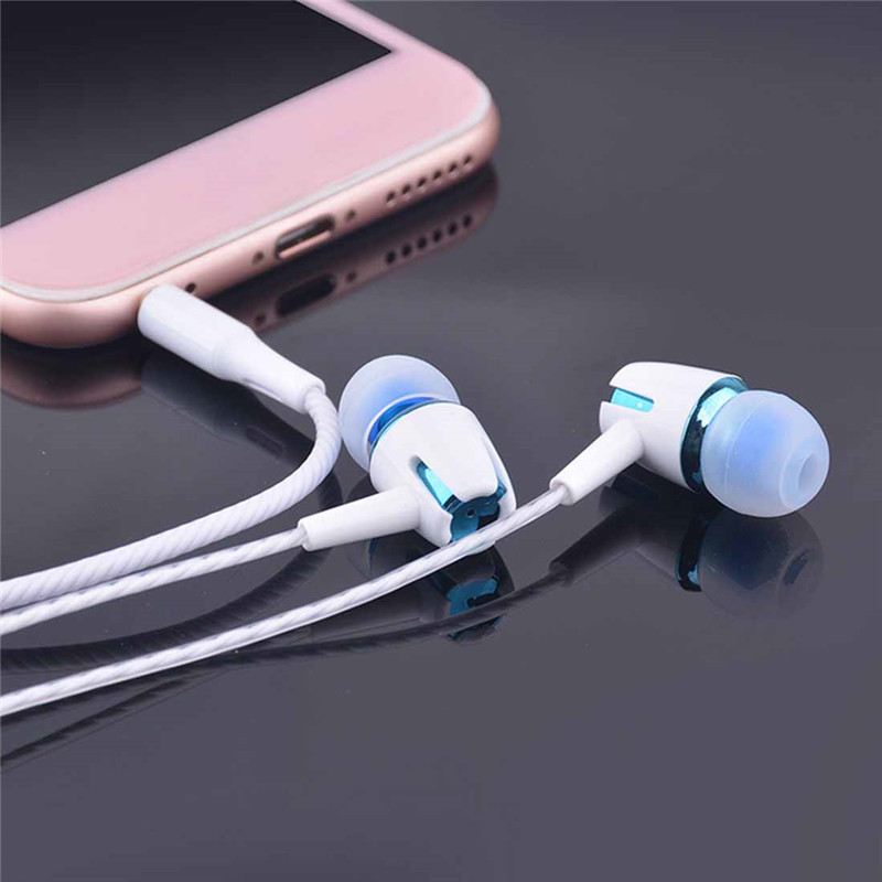 Wired Headphone Earphone E18 For Huawei Honor 9 Lite P9 Lite 2017 P8 P Smart Plus Earphones 3.5mm Earpiece Headset Earpiece image