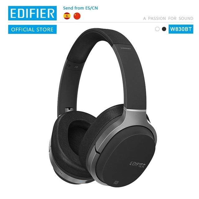 EDIFIER W830BT Wireless Headphones Bluetooth v4.1 wireless earphone aptX codec NFC tech with 95 hours of playback