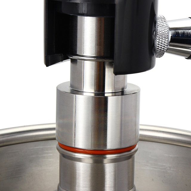 Stainless Steel Growler Filler Tap Adapter of Defoaming Bottling Filler Fit for Mini Beer Growler kit Brewing Dispenser Tool