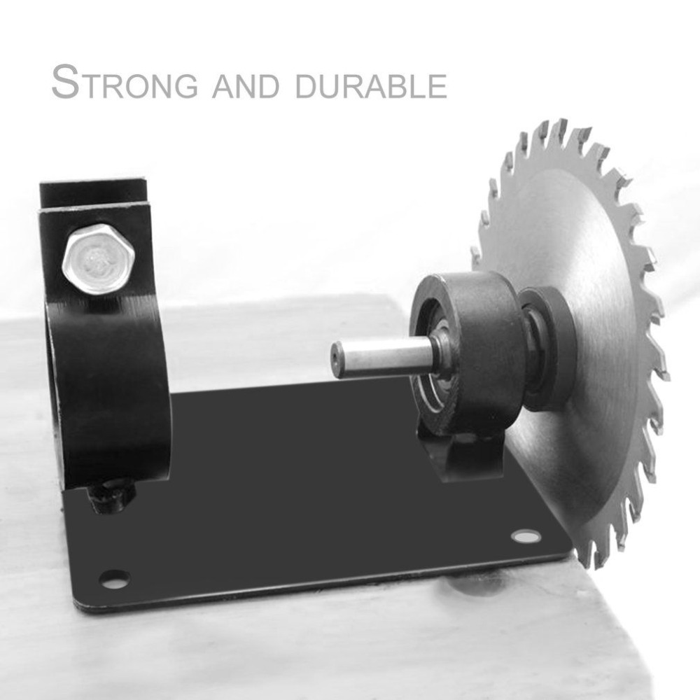 13mm Electric Drill Cutting Holder Polishing Grinding Bracket Seat Stand Drilling Machine Base Cutter Seat Converter