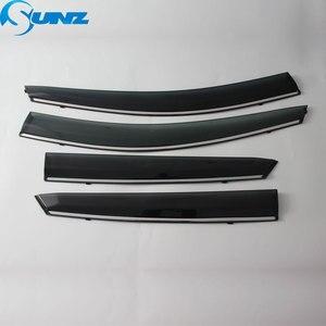 Image 2 - Side Window Deflectors For Hyundai Ix35 2018 2019 2020 Highly Transparent Weather Shield Sun Rain Deflector Guards SUNZ