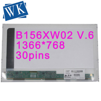 B156XW02 V.2 V.0 V.3 V.6 fit B156XTN02 CLAA156WB11A N156B6-L04 N156B6-L0B BT156GW01 N156BGE-L21 LP156WH4 TLA1 TLC1/B1