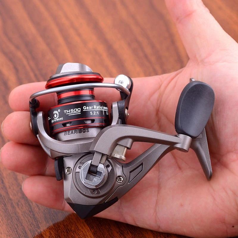 Best Cheap Metal Mini Fishing Reel Small Spinning Reels Sale