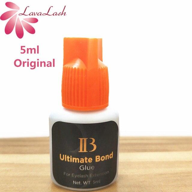 I beauty 1 butelka Korea oryginalny czarny IB Ultimate bond klej indywidualne przedłużanie rzęs klej pomarańczowy cap 5ml sztuczne rzęsy klej