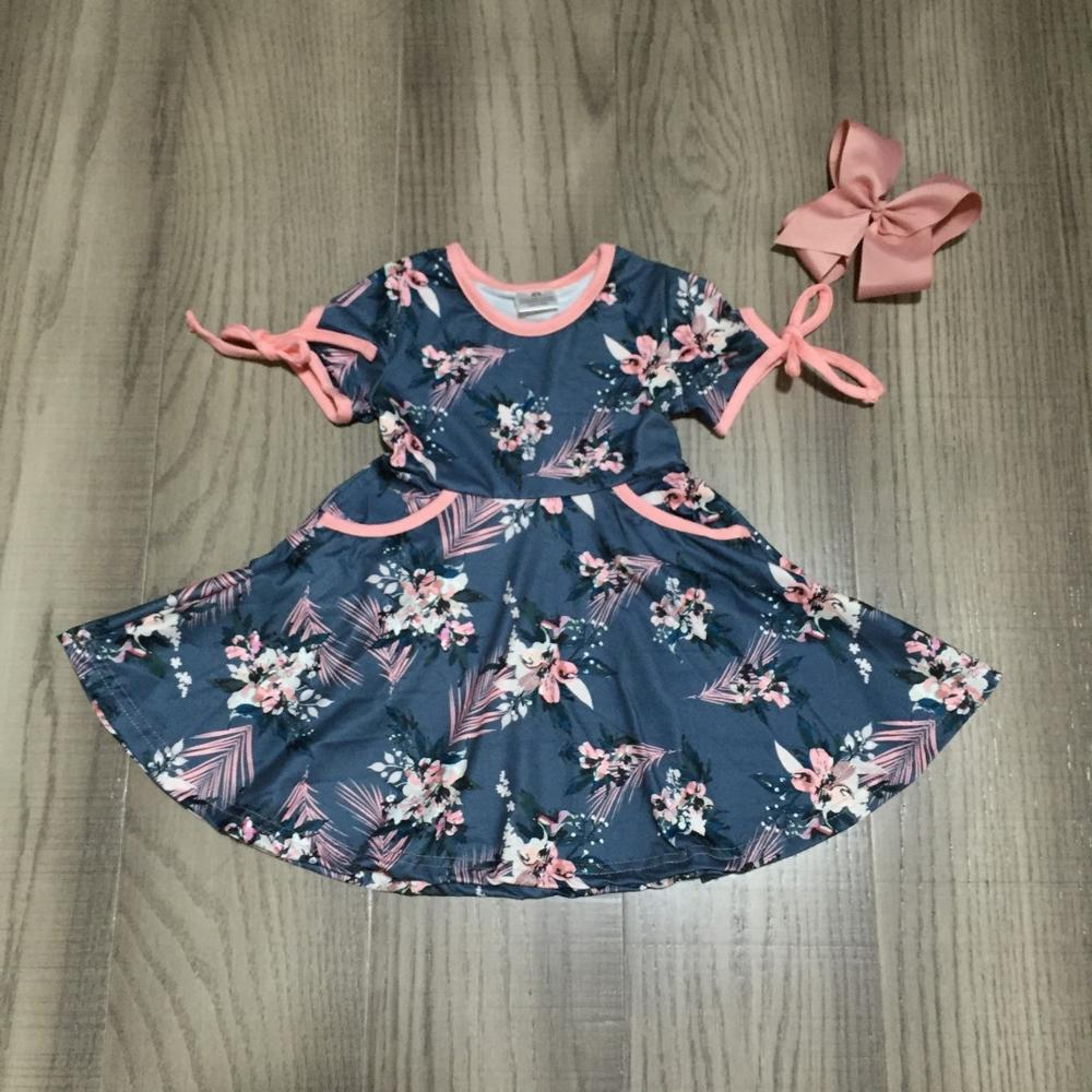 Girls Watermelon Fringe Shorts Set with Accessories Milk Silk Outfit 2T-10