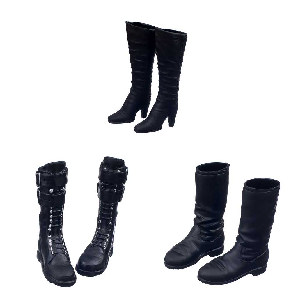 DML BBI DID 1//6 Female Shoes Boots for TTL Enterbay HT