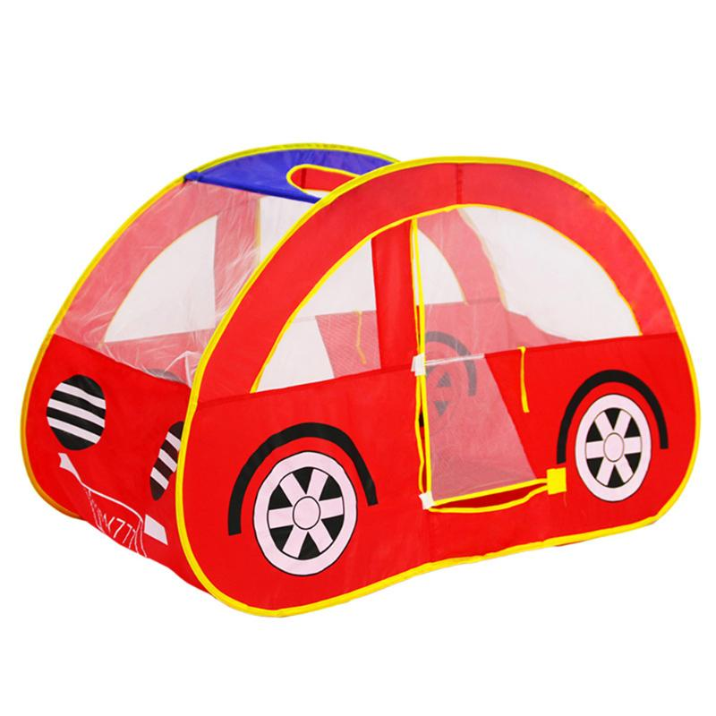 Foldable Children Toys Tent Elaborate Manufacture Prolonged Durable Car Shape Outdoor Game Large Tent Play House Toys