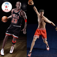 TBLeague 1/6th Scale Super Flexible Male Seamless Body M36A M36B Suntan Black Skin for 12 Basketball Action Figure Models