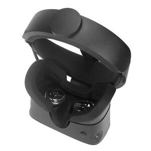Image 3 - Yumuşak silikon göz maskesi kapak nefes işık engelleme göz kapak pedi Oculus Rift S VR kulaklık aksesuarları
