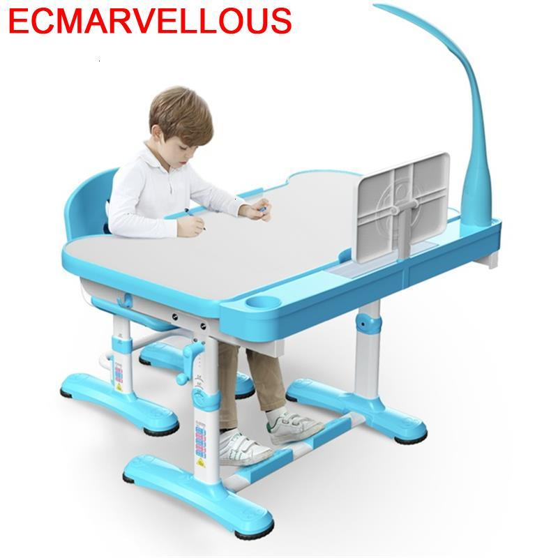 Dla Dzieci Silla Y Mesa Infantiles Baby Scrivania Bambini Avec Chaise Adjustable For Bureau Enfant Kinder Kids Study Table