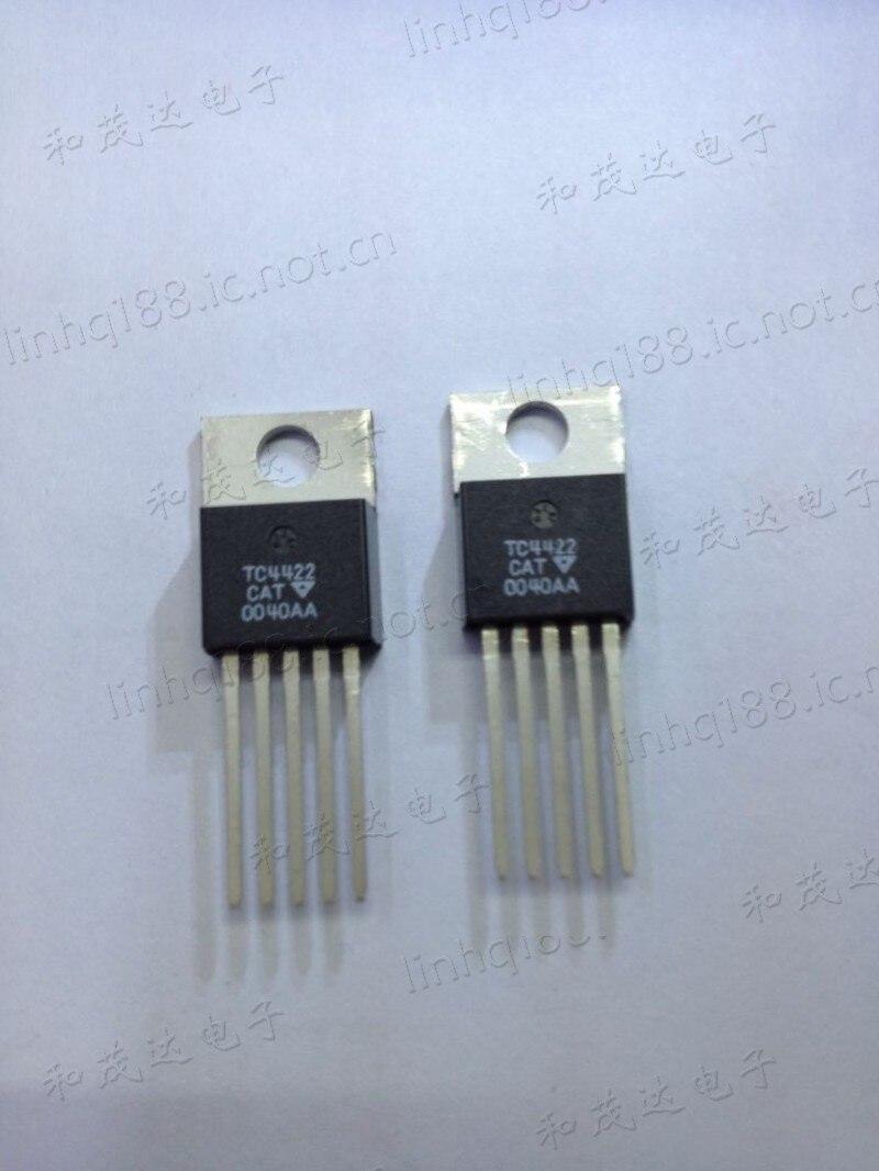 1 шт. новый оригинальный IC TC4422CAT TO-220-5 TC4422CAT5 в наличии