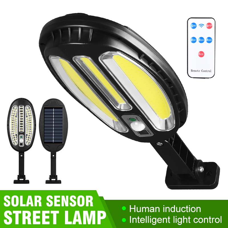 Solar Lights Outdoor Solar Security Motion Sensor Light with 3 Modes Waterproof Wide Angle Lighting Solar Powered Wall Lamp