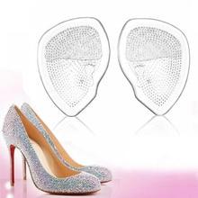 Gootrades/1 пара Силиконовый сифон для обуви на высоком каблуке; эластичные противоскользящие стельки для элегантных женщин; удобная обувь для ухода за ногами
