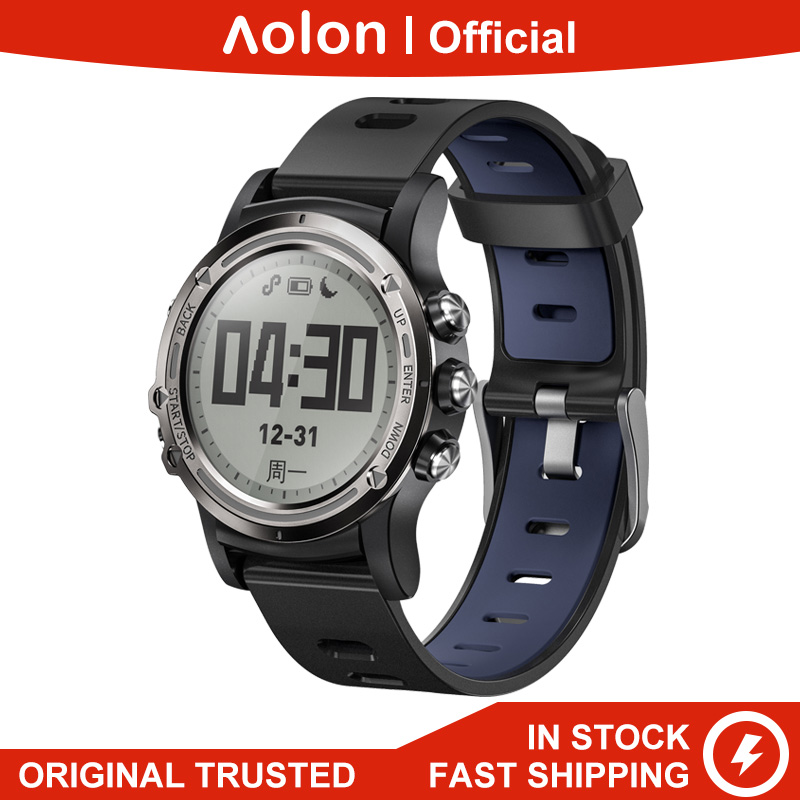 Aolon P1MINI Strava GPS Smartwatch Apple/Google Health Professional Marathon Running 5ATM IP68 50m Waterproof 60days Standy image