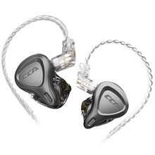 Cca Csn 1BA + 1DD In Oor Hybrid Oortelefoon Oordopjes Monitor Hoofdtelefoon Hifi Ruisonderdrukking Headset Voor Kz Zsn Pro zsx ZS10 Pro Zax