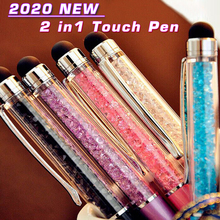 2020 new 2 in 1 touch pen Capacitive Stylus Touch Screen Pen Universal for iPad Pencil iPad Pro 11 12.9 10.2 Tablet Stylus Phone sanh 3 universal mini 3 in 1 stylus ballpoint pen for capacitive resistive touch screen black