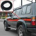 1.5 m para toyota land cruiser lc80 hzj80 fzj80 4500 1991-1997 fender flares arcos de roda de borracha de corpo largo beading forro
