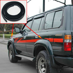 1.5M For Toyota Land Cruiser LC80 HZJ80 FZJ80 4500 1991-1997 Fender Flares Wheel Arches Wide body rubber beading rubber lining