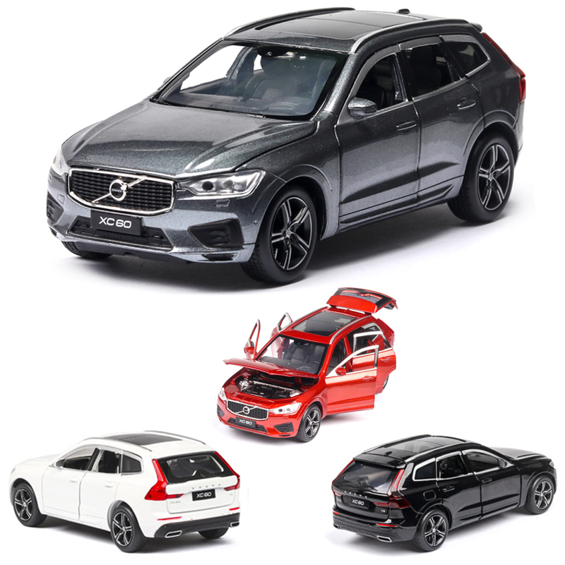 1:32  Xc60 Car Model Alloy Car Die Cast Toy Car Model Pull Back Children's Toy Collectibles Free Shipping