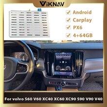 Tesla Stil PX6 Android Auto Video Interface Multimedia player Für volvo S60 V60 XC40 XC60 XC90 S90 V90 V40 Auto radio dekodierung