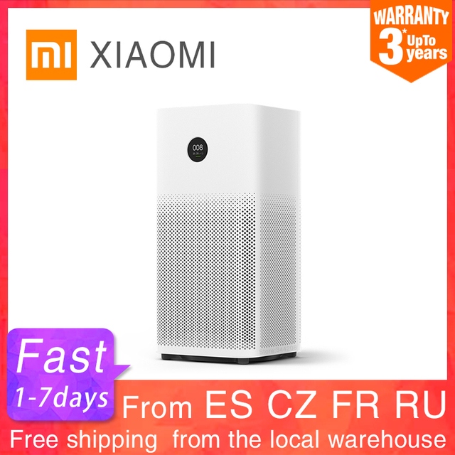 $ US $194.96 XIAOMI MIJIA Air Purifier 2S sterilizer addition to Formaldehyde wash cleaning Intelligent Household Hepa Filter Smart APP WIFI