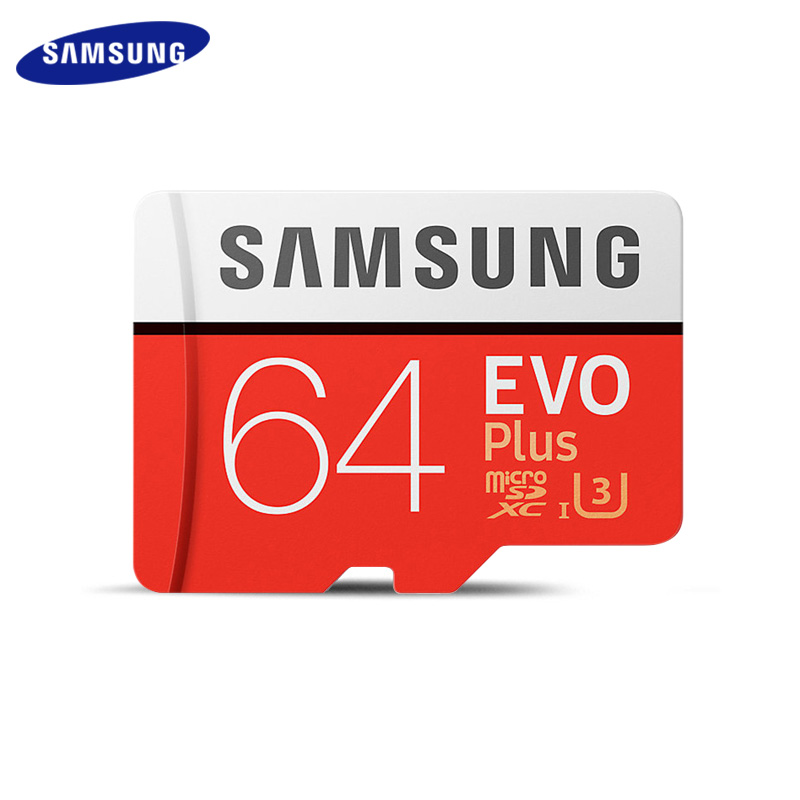 Original SAMSUNG Grade EVO+ Class 10 Memory Card 256GB 128GB 64GB 32GB Micro SD Card SDHC SDXC Class 10 UHS TF Card Trans Flash
