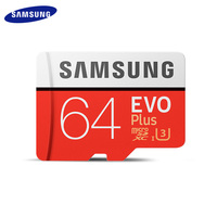 Samsung evo + micro sd 256gb 128gb 64gb 32gb  classe class10 cartão de memória cartão trans flash sdhc sdxc class 10 uhs