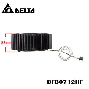 Бесплатная доставка BFB0712HF 65 мм вентилятор охлаждения для EVGA GTX660 GTX660TI GTX670 GTX680 кулер видеокарты