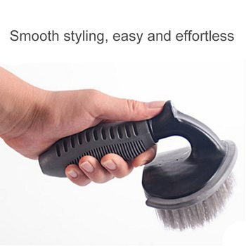 Car Wheel Cleaning Brush Detailing Brush Car Wheel Wash Brush Car Cleaning Brush Wheel Rims Tire Washing Brush Car Wash Tool image