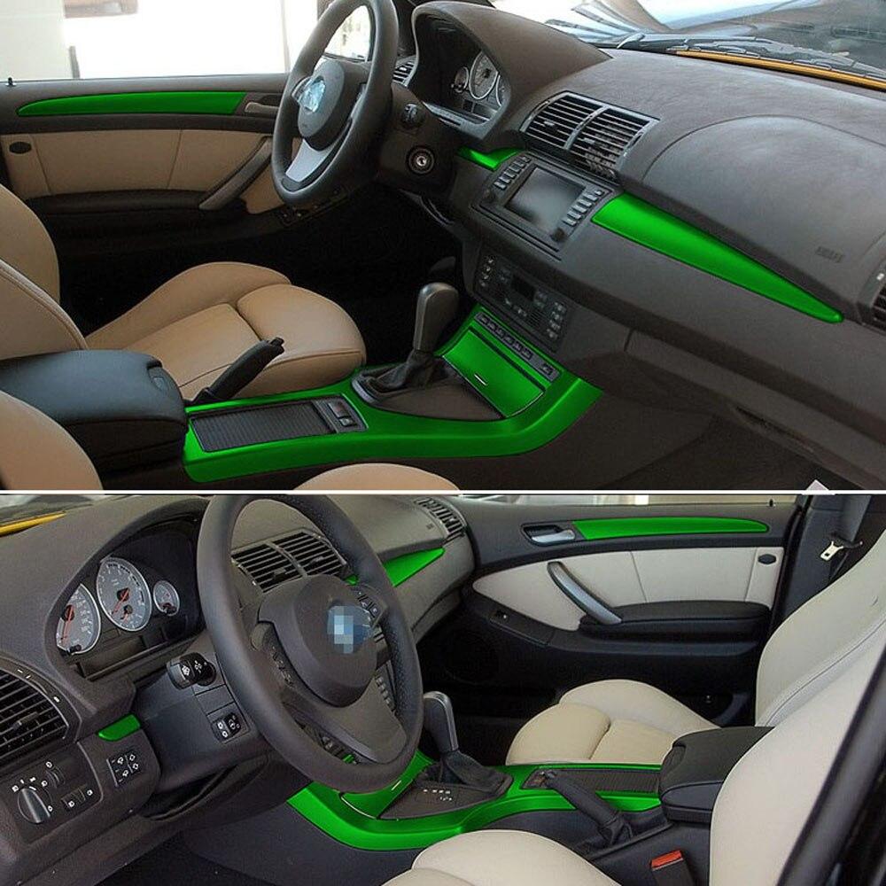 Для BMW X5 E53 1999 2006 интерьерная Центральная панель управления дверная ручка 3D/5D наклейки из углеродного волокна Переводные картинки автостайлинг аксессуары|Наклейки для салона авто|   | АлиЭкспресс