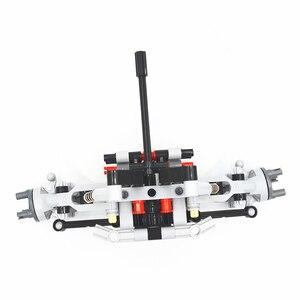 Image 5 - Bausteine MOC Technic Teile Formel Off Road Fahrzeug Front Suspension System kompatibel mit lego für kinder jungen spielzeug