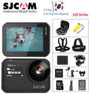 SJCAM SJ9Strike 4K 60fps deportes Cámara impermeable GYRO IPS pantalla táctil 1300MAH batería WiFi Control remoto acción DV
